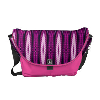 Symbolic Native American Pink Courier Bag