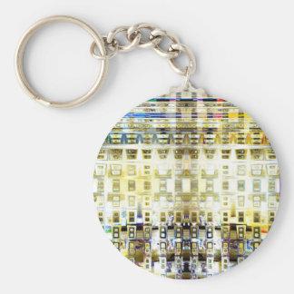 Symbolic Prophecy Basic Round Button Keychain