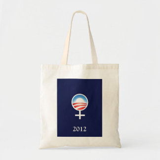 Symbolic Women for Obama 2012 Grocery Tote Tote Bag