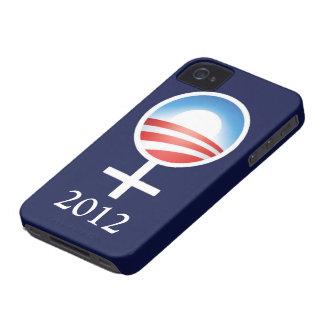 Symbolic Women for Obama 2012 iPhone4 Case Case-Mate iPhone 4 Case