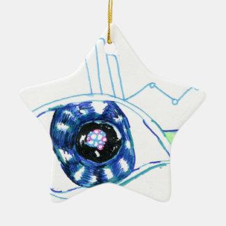 Symbolmancers Oculus Double-Sided Star Ceramic Christmas Ornament