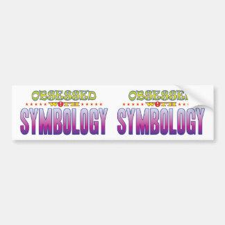 Symbology 2 Obsessed Bumper Sticker