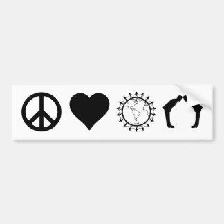 Symbology of PLUR (Bumper Sticker) Bumper Sticker
