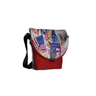 Symbols of Freedom Courier Bag