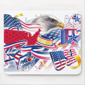 Symbols of Freedom Mouse Pad