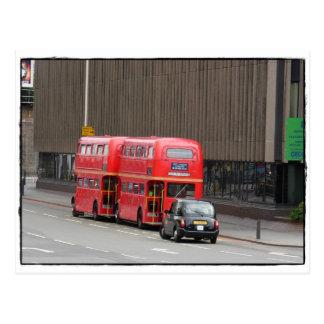 Symbols of London Postcard