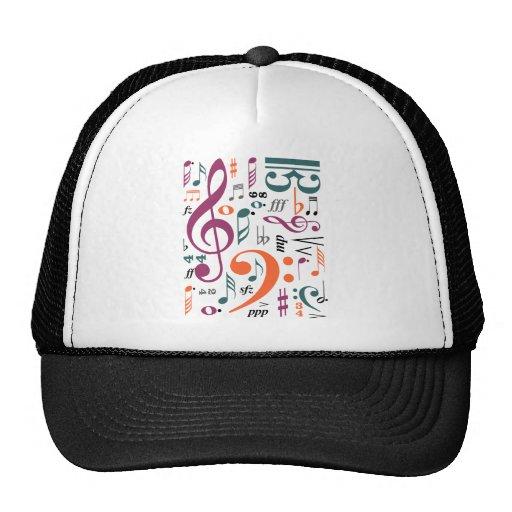 Symbols of Music Trucker Hat