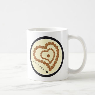 Symbols of Portugal - Cork Coffee Mug