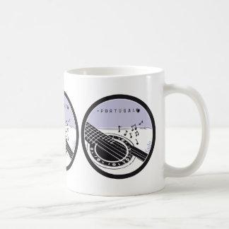Symbols of Portugal - FADO Classic White Coffee Mug