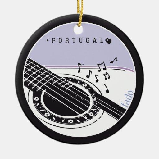 Symbols of Portugal - FADO Christmas Tree Ornament