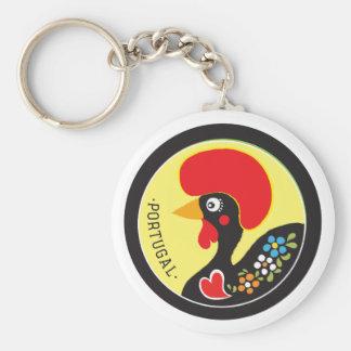 Symbols of Portugal - Galo de Barcelos Keychain