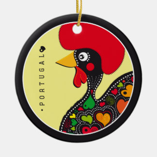 Symbols of Portugal - Rooster Ceramic Ornament