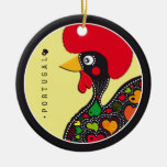Symbols of Portugal - Rooster Christmas Ornaments