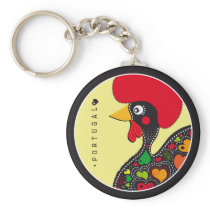 Symbols of Portugal - Rooster Keychain