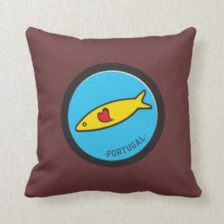 Symbols of Portugal - Sardine Nr. 02 Pillow