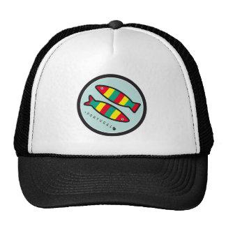 Symbols of Portugal - Sardines Mesh Hats