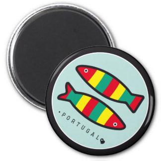 Symbols of Portugal - Sardines Magnets