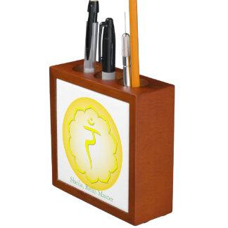 Symbols of the Seven Chakras Desk Organizers
