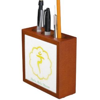 Symbols of the Seven Chakras Pencil Holder