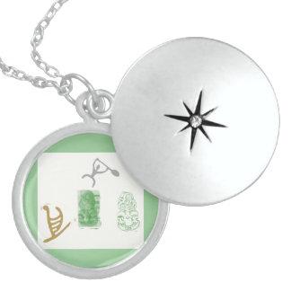 Symbols Sterling Silver Necklace