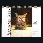 "Syminou calendar 2018 Savannah Cat<br><div class=""desc"">Calendrier de chats Savannah 2018/ Calendar of Savannah Cats</div>"