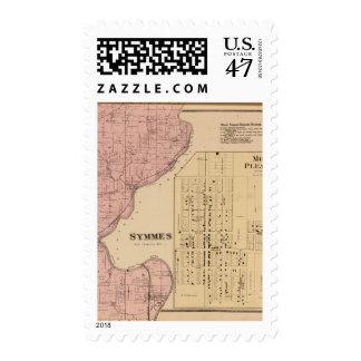 Symmes Mt Pleasant, Ohio Postage