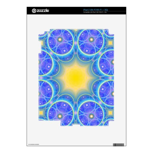 symmetric circles happy and joy symbol skins for the iPad 2