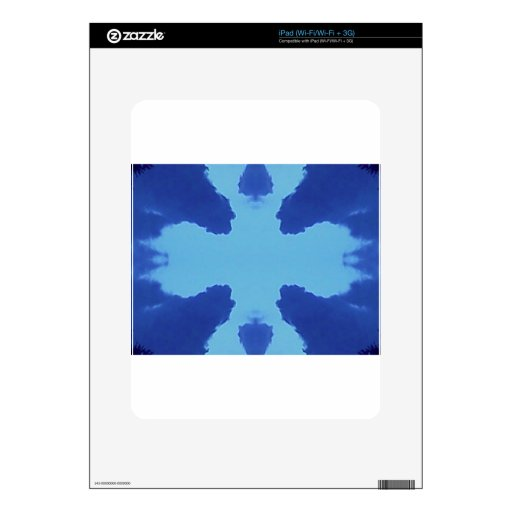 Symmetric Clouds iPad Decals