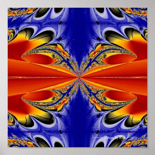 Symmetric Vibrance Poster
