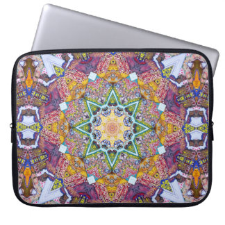 Symmetrical Colors Abstract Computer Sleeve