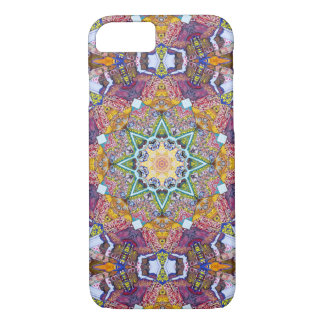 Symmetrical Colors Abstract iPhone 8/7 Case