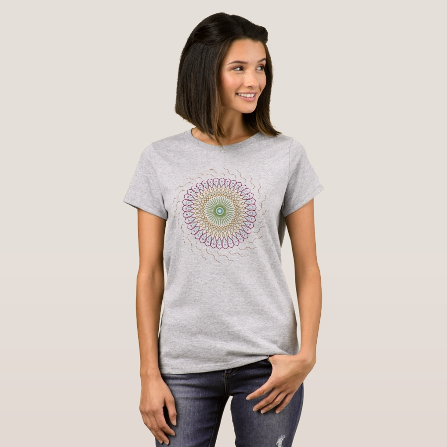 Symmetrical colors T-shirt - Best Selling Long-Sleeve Street Fashion Shirt Designs