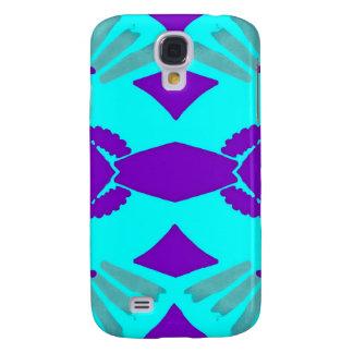 Symmetrical Fan Imprints Pattern Galaxy S4 Cover