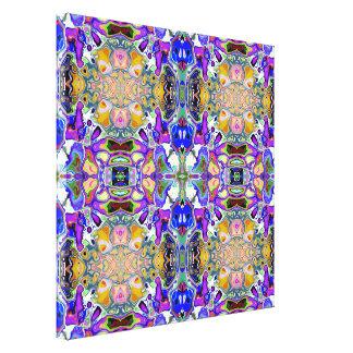 Symmetrical Fantasy Abstract Canvas Print