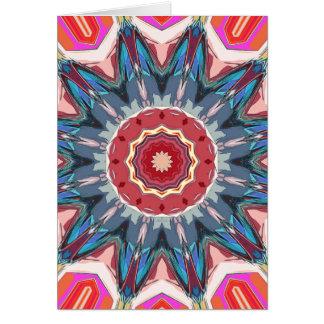 Symmetrical Mandala Graphic Card