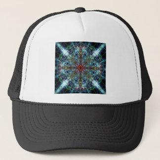 Symmetrical Silk Strands Trucker Hat