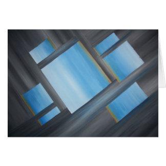 Symmetrical Unison - Blank Greeting Card