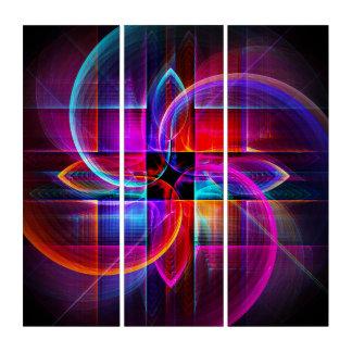 Symmetry in  Motion Triptych