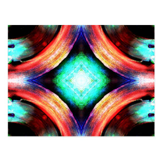 Symmetry of Colors Postcard