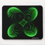 Symmetry of Life Green mousepad