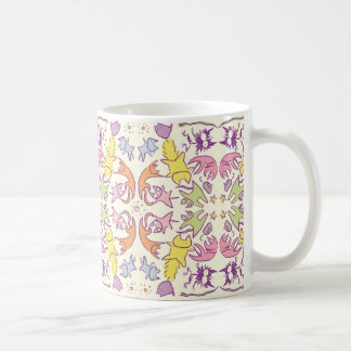 Symmetry Pastelcolor Cute Cats Coffee Mug