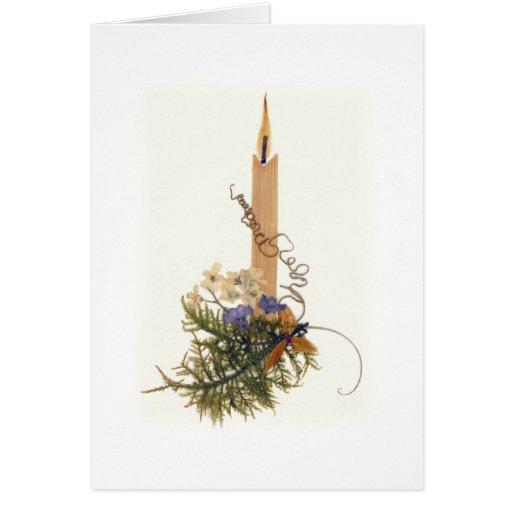 Sympathy Candle Greeting Card | Zazzle