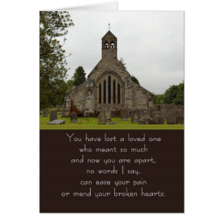 Sympathy Card Early Medieval (AD411 to 1066) St. M