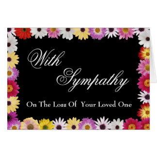 Sympathy Card for Loss of Loved One