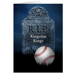 Sympathy Card for Your Baseball Team's Loss