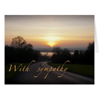 Sympathy Card-large size Card