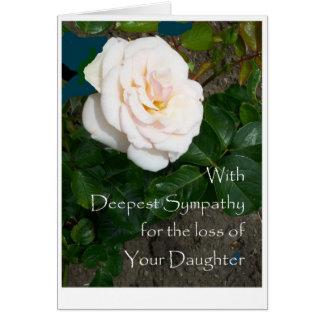 Sympathy Card Loss of Daughter