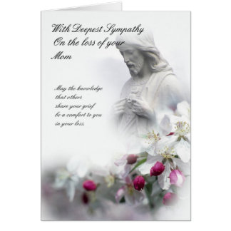 Sympathy card loss of Mom