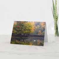 Sympathy Card - Misty Morning