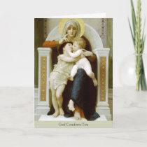 Sympathy Cards   Mary, Jesus & St John